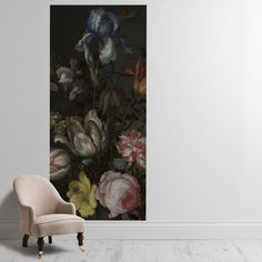 Shop 'Flowers in a Vase with Shells and Insects' Wallpaper Mural from the The National Gallery collection from Surface View today! Flower Vases, Flowers, Wall Wallpaper, My Dream Home, Your Space, Wall Murals, Modern Art, Shells, Cushions