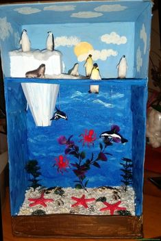 Rate this post Arctic Habitat Diorama grade project Arctic Habitat Diorama grade project Science Projects For Kids, School Projects, Crafts For Kids, Animal Projects, Art Projects, Arctic Habitat, Ecosystems Projects, Animal Habitats, Reggio