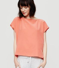 Image of Lou & Grey Dolman Top color Faded Coral