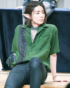 """He's look like Legolas. Cute Korean, Korean Men, Rapper, Sf9 Taeyang, Sf 9, Cant Help Falling In Love, Leg Thigh, Fnc Entertainment, Kpop"