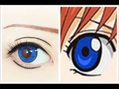 Tutorial : Anime Eye Makeup 138 • Kagura - YouTube Anime Eye Makeup, Anime Eyes, Cosplay Tutorial, Things To Think About, Tutorials, Youtube, Costumes, Youtubers, Youtube Movies