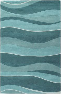 Eternity Landscapes 1053 Ocean by KAS Oriental Rugs