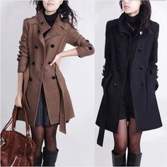 $35.00 | Fashion casual wool coat QZ1027DH