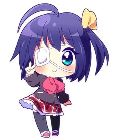 Rikka (from love chunnibyou & other delusions) she looks so cute!! :3