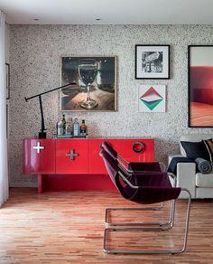 Escolher a textura de cada ambiente é ideal para criar uma atmosfera diferente. Chega de olhar para as paredes e ver sempre a mesma imagem. Ouse e ultrapasse seus próprios limites com as texturas que sempre admirou (em todos os cômodos da casa).
