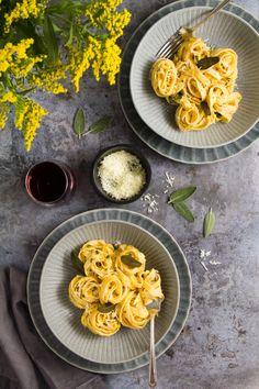 Pumpkin, Sage & Kefir Pasta - The Healthy Cook