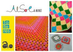 """Taller """"cuadros granny"""". #Alsol.  II Jornadas de Artesanía y Diseño Valencia 2014"""