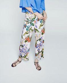 Floral Culottes xx