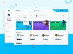 Mini-Games User Dashboard - SiteUp