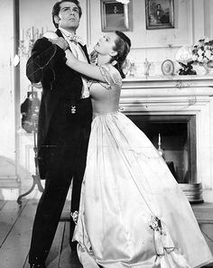 Laurence Olivier & Geraldine Fitzgerald - Wuthering Heights, 1939