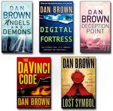 Love Dan Brown!!! Once I pick up one book, it's hard to put it down! I've read them all four and just bought Deception Point, but I'm still on the Stieg Larsson's Trilogy :/  It'll just have to wait!