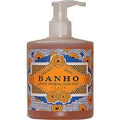Claus Porto Banho Liquid Soap - Citron Verbena