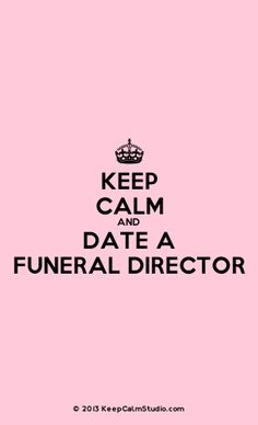 dating site for funeral directors