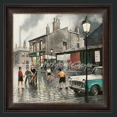 New fine art print release  ' A Game Of Cricket ' by E. Anthony Orme  A Game Of Cricket - New fine art print release - Nostalgic Street Scene Fine Art Print. Based on the artist's childhood memories of the 1950s and 1960s. Featured in E. Anthony Orme's article on his childhood memories of 50s and 60s Manchester titled: 'Tricks , Treats And Cobbled Streets' - Lancashire & Northwest magazine -December Edition https://www.lancmag.com   Select your art print in colour or black and white. Choose…