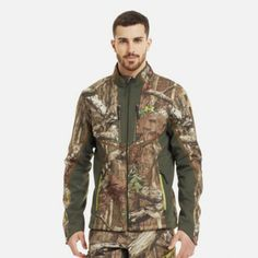 #UnderArmour Mens Coldgear Ridge Reaper Softshell Jacket ( http://d-dfarmandranch.com/clothing-accessories/mens/under-armour-mens-coldgear-ridge-reaper-softshell-jacket-2.html )