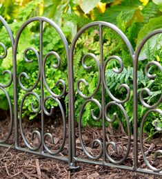 Montebello Iron Garden Edging | Fencing
