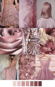 Dusty rose of Soft Summer. Colour Schemes, Color Trends, Color Patterns, Color Combinations, Color Palettes, Mode Inspiration, Color Inspiration, Pantone, Color 2017