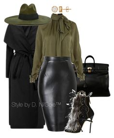 """Untitled #2999"" by stylebydnicole ❤ liked on Polyvore featuring Hermès, Balmain, Diesel and Dsquared2"