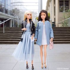Passing by the @pacificnorthwestballet, our looks are on 'pointe'!  #barbie #barbiestyle