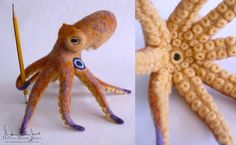 Amazing beautiful felted things that I must learn to create. @RobotGirlfriend teach me the ways!