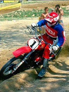 Motocross Racer, Motorcycle Racers, Motocross Bikes, Vintage Motocross, Honda Dirt Bike, Honda Motorcycles, Mx Bikes, Cool Bikes, Marty Smith
