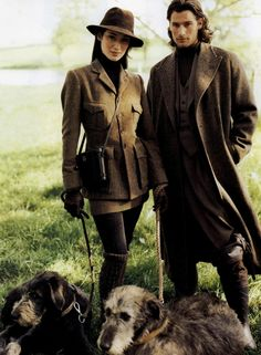Oh dear - they've strayed out into the countryside. How will they cope? Ralph Lauren V
