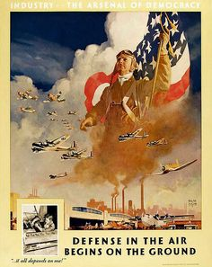 WWII Classic Wartime Poster Art