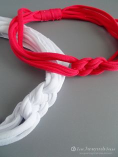 Knotted T-Shirt Headband