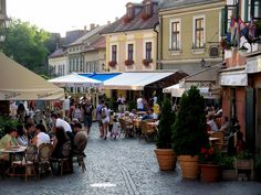 Streets of Budapest - so quaint, and delicious food!