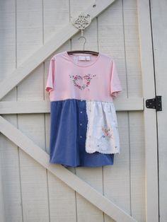 Garden dress Romantic dress gypsy dress mini boho by ShabyVintage, $45.90