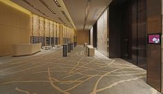 Hospitality lighting, Conrad Hotel - Entertainment and accommodation structures iGuzzini