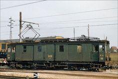 Swiss Railways, Electric Locomotive, Train, Display Stands, Switzerland