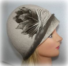 I like this designer. Wonder how they keep the hat from falling forward.
