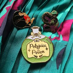 Harry Potter enamel pins (via lefancygeek.com)