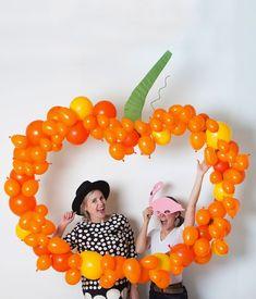 Pumpkin Balloon Photobooth