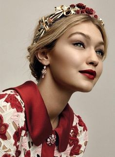 Gigi hadid Belles & Whistles (American Vogue)