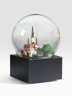 Need this. Love New Orleans like nothing else! Saks Fifth Avenue New Orleans Snow Globe