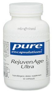 RejuvenAge Ultra 90 caps (P14005) by Pure Encapsulations. $56.10. RejuvenAge Ultra is a scientifically researched combination of acetyl-l-carnitine (ALC) and alpha lipoic acid (ALA) offered with antioxidant and mitochondrial support cofactors. It promotes healthy aging through maintaining youthful gene expression, mitochondrial function, cellular energy production and antioxidant protection. Specifically, alpha lipoic acid, acetyl-l-carnitine and resveratrol support...