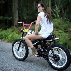 Resultado de imagem para bmx handlebar on motorcycle
