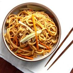 Cold Spicy Sesame Noodles