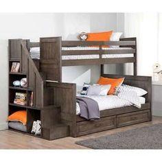 Comfy Bunk Bed Design Ideas For Boys Room 12