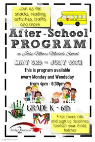 Free Child Care Flyer Templates Early Learning Preschool