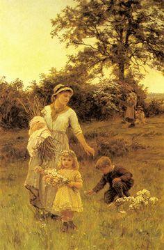 El arte de ser madre, la guirnalda, morgan