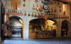 Kitchen - Chateau de Brissac