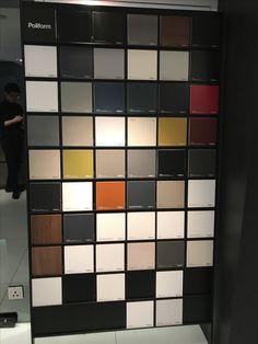 Poliform colour samples