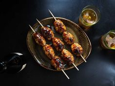 Full-flavored chicken meatballs smothered in a sweet and salty glaze. Featured in: Berkeley's Ippuku is Still the Bay Area's Yakitori Destination