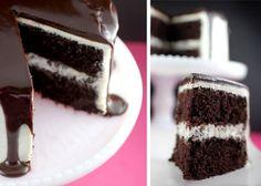 Recette gâteau au chocolat avec glaçage à la vanille8