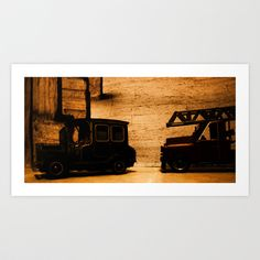 Lost Cars Six Art Print by Four Hands Art - $17.68