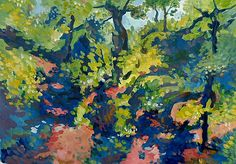 Morgenstimmung im Wald Color Studies, Study, Painting, Inspiration, Morning Sun, Seasons Of The Year, Woodland Forest, Sketches, Landscape