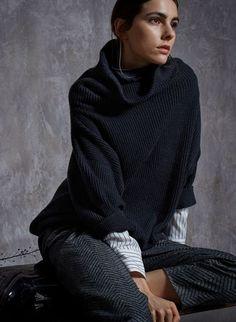 Теплая коллекция от Brunello Cucinelli : Красота : Мир женщины : подписывайтесь на новости из мира моды https://vk.com/zhiletki_iz_pesca